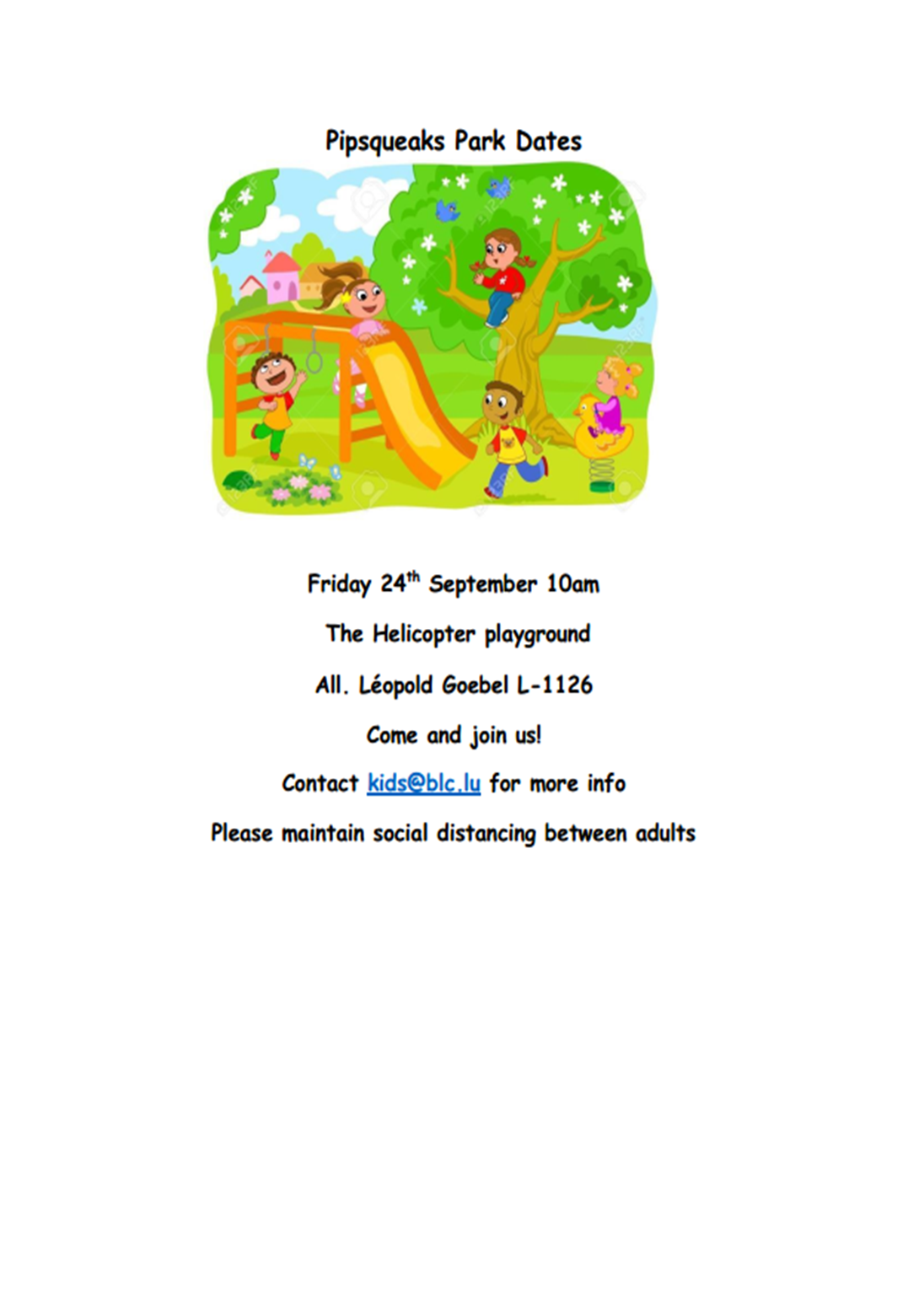 Play in the Park @ The Helicopter playground