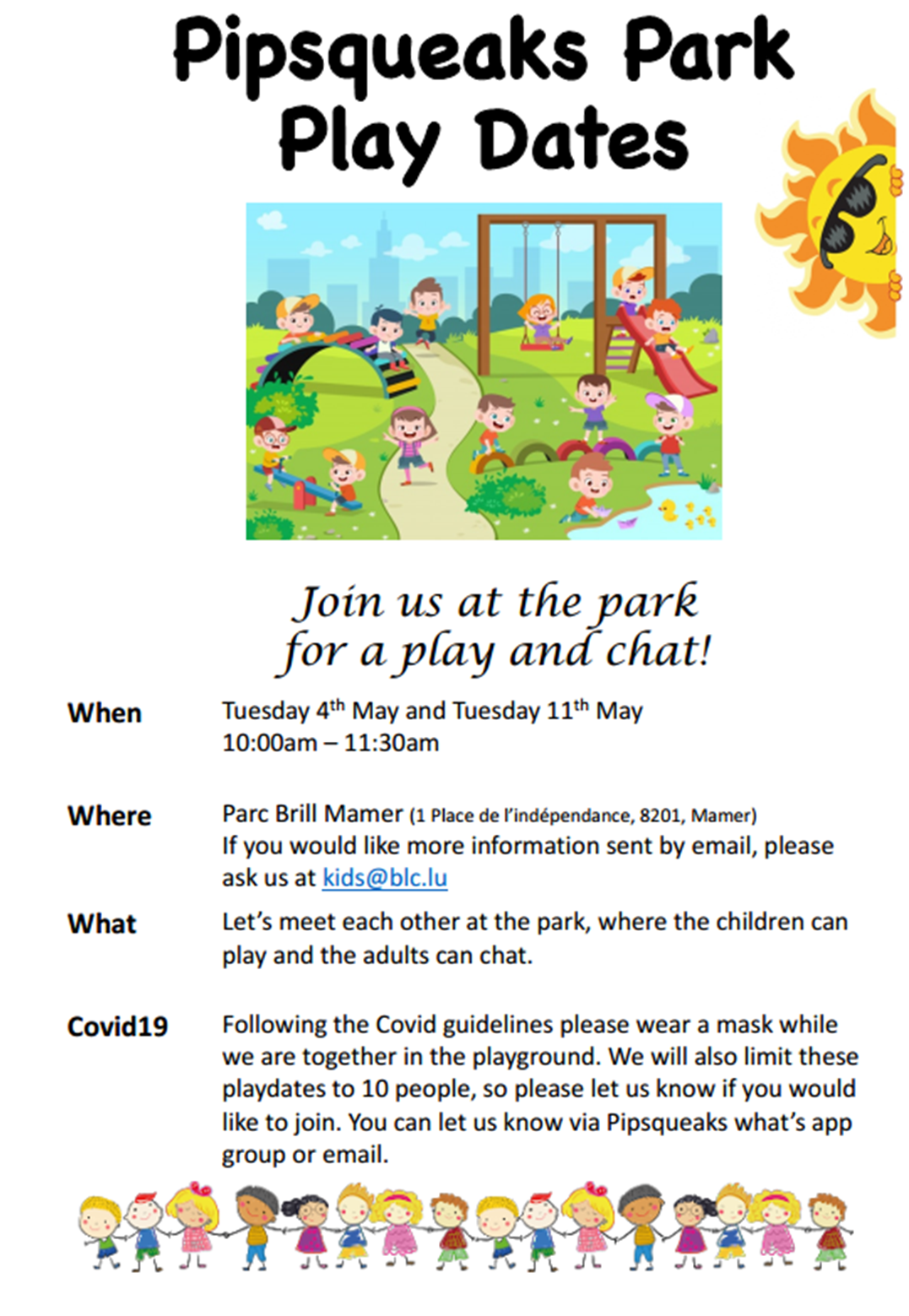 Play in the Park @ Parc Brill Mamer