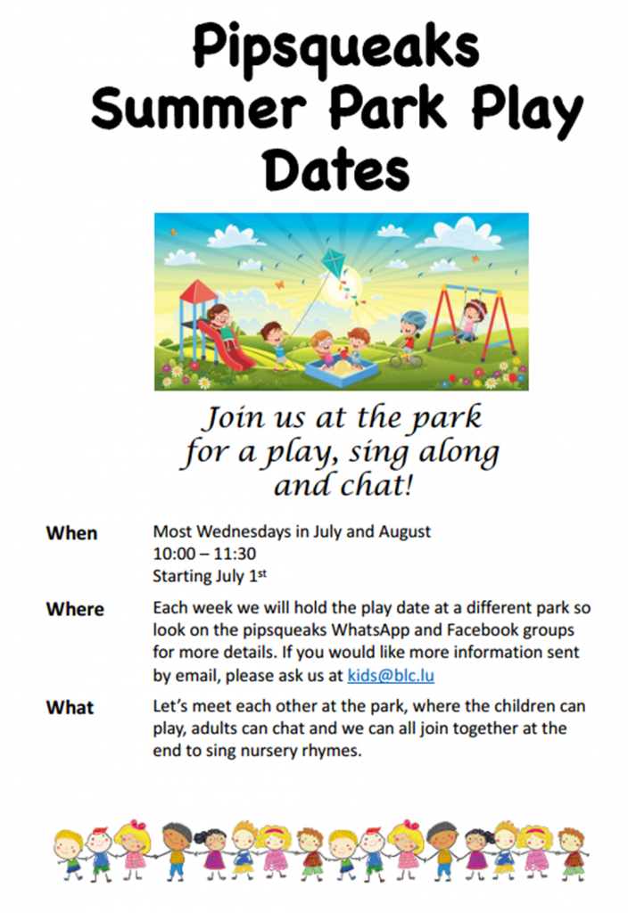 Play in the Park @ Play parks