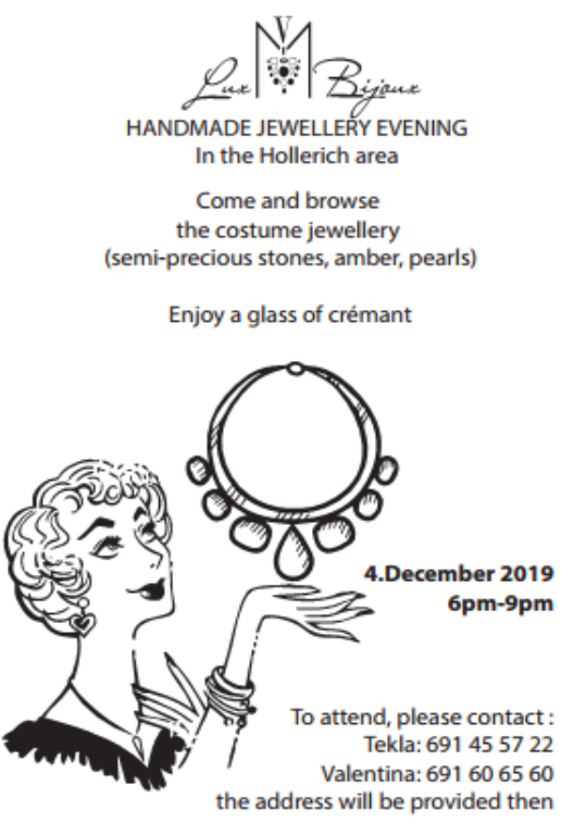 Handmade Jewellery Evening